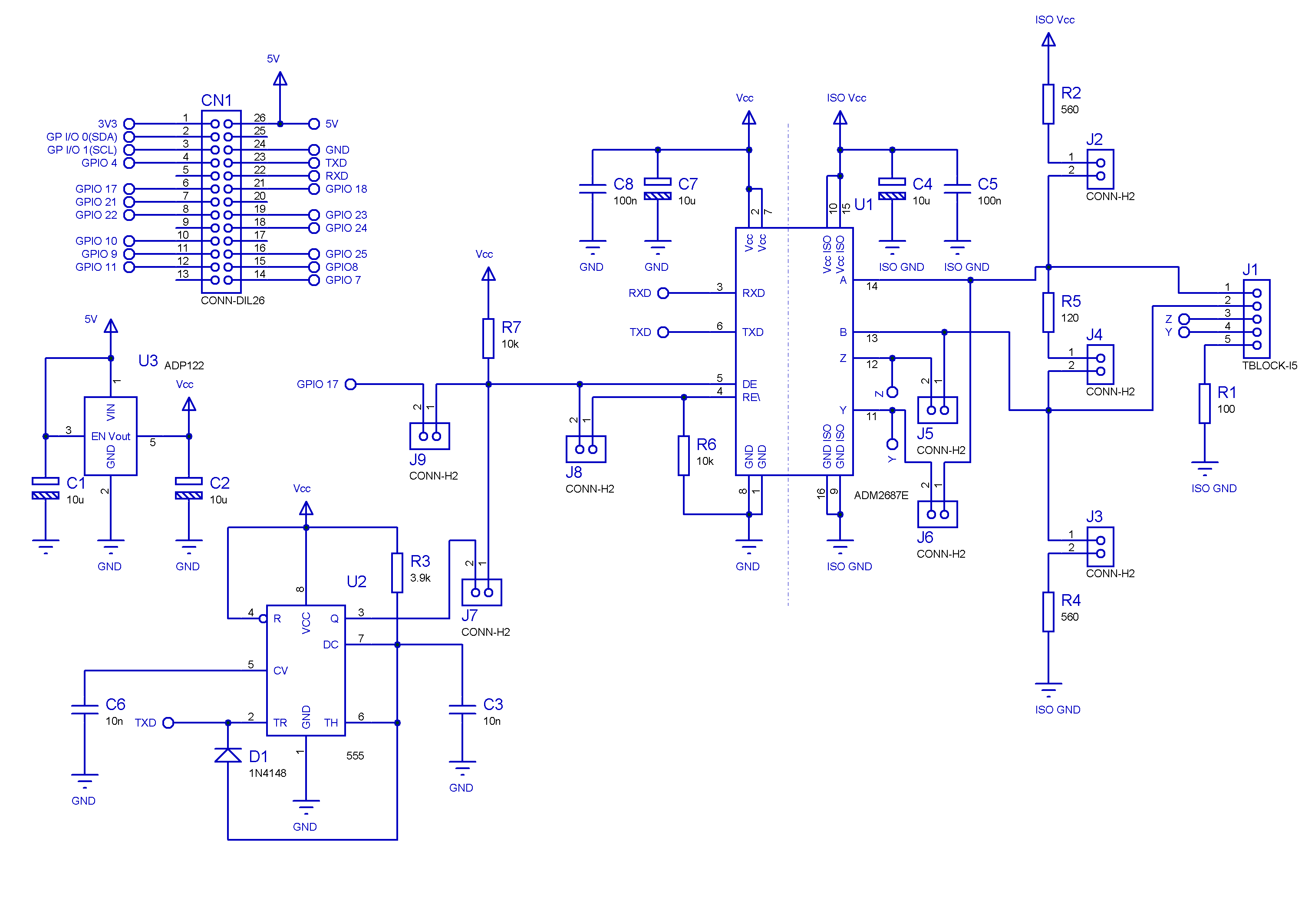 rs232 to rs 422 485 converter schematic rs232 cable