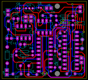 PCB Layout for portable data logger
